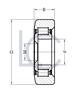 Bild von Hubmastrolle STI S0110 42x105,6x34 mm