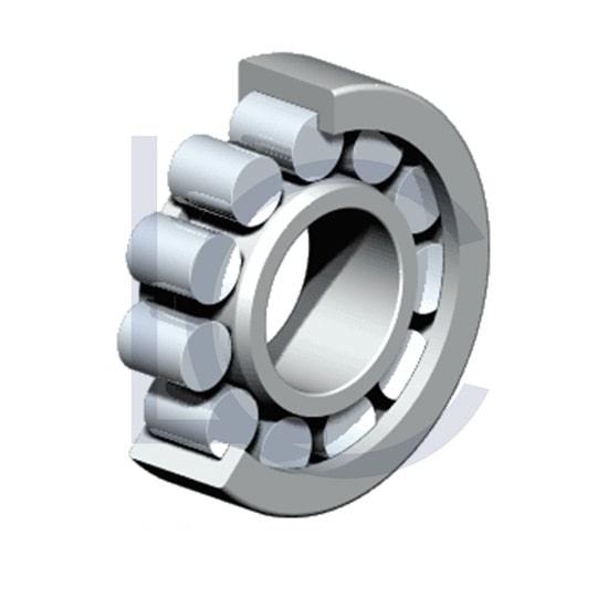 Zylinderrollenlager NJ207 ECP/C3 SKF 35x72x17 mm