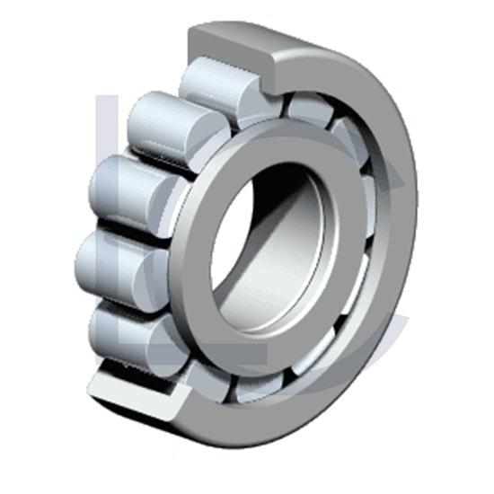 Zylinderrollenlager NUP208-E-TVP3 NKE 40x80x18 mm