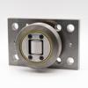 Kombirolle MR0007PMR07 D=107.7 mm verschweißt mit Platte 180x120x20 mm