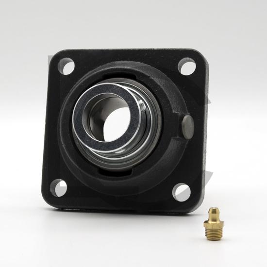 Flanschlagergehäuseeinheit RCJ45 NKE d= 45 mm
