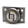 Kombirolle MR0003PMR03 D=70.1 mm, verschweißt mit Platte 120x80x15 mm